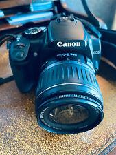 Canon EOS Digital Rebel XTi SLR Camera - Black w 18-55