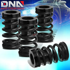 """FOR 01-05 CIVIC EM ES 1-3""""SCALE SUSPENSION LOWERING COILOVER BLACK COIL SPRINGS"""