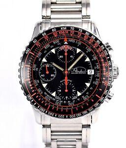 CERTINA Michael Doohan 1000 Limited Black Dial Chrono Automatic Valjoux 7750