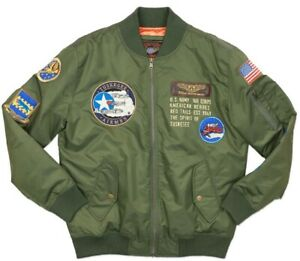 Tuskegee Airmen Bomber Jacket Red Tails