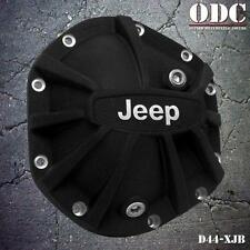 DANA 44 Xtreme Differential Cover with Jeep Logo Black