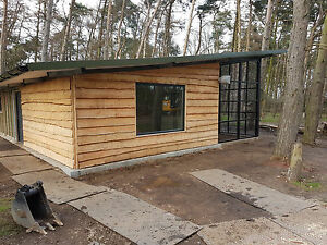 WE ARE OPEN!!    Rustic waney edge garage  cladding from £14 per sq metre