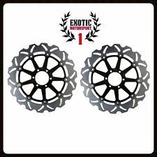 Front Brake Disc Rotors Set For Aprilia RSV1000R Factory Tuono Mana Wave Rotors