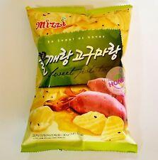 Mizzi Korean Sweet Potato Chip With Honey & Black Sesame Seeds (2 Packs)