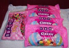 NEW 4X Brach's Classic Bird Eggs Jelly Beans 16 oz + 1 Tiny Bag Jelly Beans