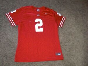OHIO STATE BUCKEYES #2 Nike red Football Jersey youth XL
