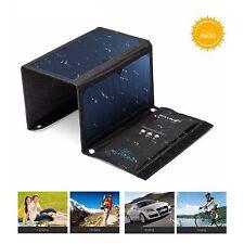 Solar Charger, BlitzWolf 20W/3A Portable Solar Panel(Over 21% SunPower Conversio