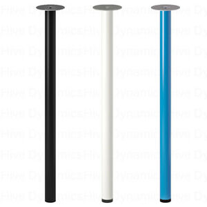 IKEA Adils Metal Table Legs, Table Support Stand Legs Only 70cm All Purpose