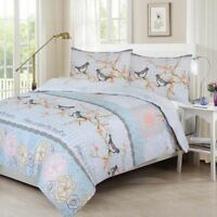 Sweet Bird Duvet Cover with Pillow Case Quilt Cover Bedding Set King All Size