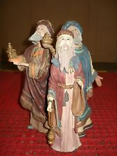 "Large Duncan Royale 1985 History of Santa Ii ""Magi"" Wise Men L.E. Collectible"