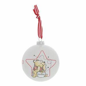 Disney Enchanting A30245 Winnie The Pooh Christmas Tree Bauble