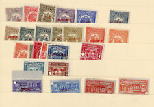 South America Stamps 25x Specimens 1930's vin All Nh