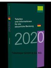 Mit Rechnung Datev Tabellen und Informationen für den steuerlichen Berater 2020