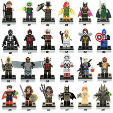 24 pcs lot Marvel DC Super Heroes Avengers Lego Compatible Building Blocks Set