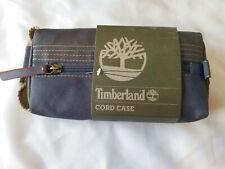 Nwt Timberland Cord Case Travel Bag Kit Gray Charcoal $38
