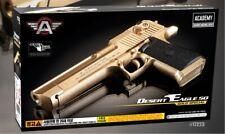 Academy #17223 DESERT EAGLE 50 Gold Special Pistol Airsoft 6mm BB Hand Gun Toy