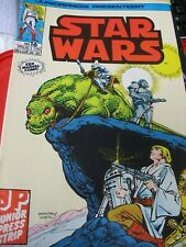 STAR WARS 16 Juniorpress strip.