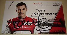 Le Mans - WEC 2013 Round 1 Silverstone Winner Audi R18 #2 Tom Kristensen Signed