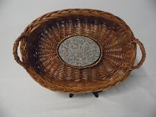 Wicker Cheese or Bread Serving Basket