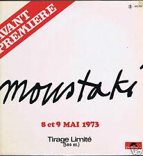 LP GEORGES MOUSTAKI PROMO AVANT PREMIERE MAI 1973