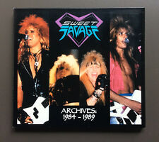 SWEET SAVAGE - Archives: 1984-1989 CD EX 2003 13 Tracks Digipak L.A. Glam Rock