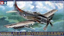 Tamiya 61058 1/48 Scale Model Aircraft Kit U.S.Navy Douglas A-1H Skyraider
