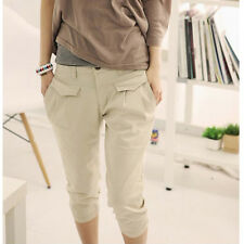 Summer Women's Casual Hot Fashion Cropped Pants Trousers Capris Harem Trousers