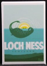 "Loch Ness Travel Poster 2"" X 3"" Fridge / Locker Magnet. Scotland UK"