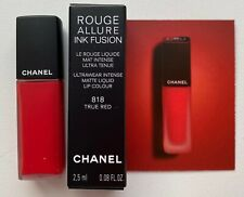 chanel rouge allure ink fusion matte lipstick 818 true red miniature VIP GIFT