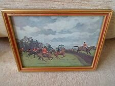 After Charles Simpson Hunting Print - Hunting, Hounds & Horses Nostalgia     §3