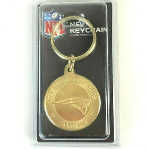 New England Patriots NFL Keychain Coin Keyring Highland Mint Made In USA Gift