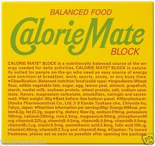 Calorie Mate block 4 pieces fruit-flavored balance nutritional food JAPANESE