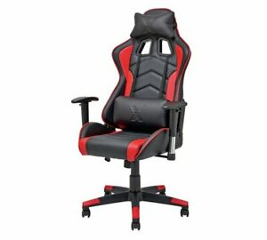 X-Rocker Height Adjustable Alpha Office Gaming Chair - Black - See Real Pictures