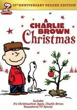 a Charlie Brown Christmas 50th Anniversary Deluxe Edition Region 4 DVD
