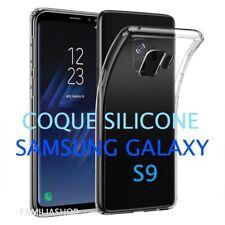 Housse coque transparente gel silicone souple samsung galaxy S9