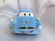 DISNEY STORE Pixar CARS 2 FINN MCMISSILE Blue Stuffed Toy Authentic Patch Plush