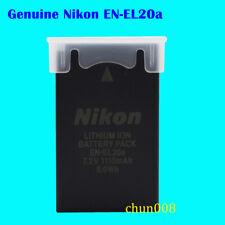 Genuine Nikon EN-EL20a Battery for Nikon J1 J2 J3 V3 S1 AW1 P1000 coolpix A
