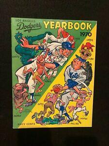 1970 LOS ANGELES DODGERS Souvenir Yearbook Major League Baseball MLB. S. Garvey