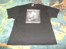 DISREGARD FEMALES ACQUIRE CURRENCY Large T-Shirt MEME Very Good Condition