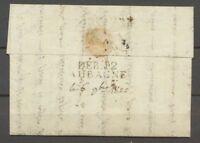 1822 Lettre déboursé DEB.12 AUBAGNE BOUCHES-DU-RHONE(12) SUP P2704