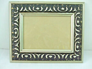 """Green Tree Gallery Wall Hanging Photo 5"""" x 7"""" Picture Frame Silver Black Scroll"""