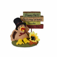 Annalee Dolls 2021 Thanksgiving 3in Signs of Fall Turkey Plush New with Tag