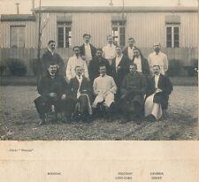 Hopital ANDRAL & BASTION c. 1908 - Médecins Chirurgiens Internes Paris  - 2