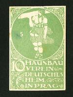 Poland Stamps Prague Label from 1900 Rare