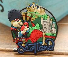 Scotland Tourism Tourist Travel Souvenir 3D Rubber Fridge Magnet GIFT IDEA