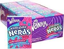 Nerds Surf and Turf Raspberry and Tropical Punch 46g (pack of 24)
