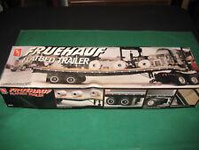 AMT Fruehauf Flatbed Truck Trailer 1/25 scale plastic model kit