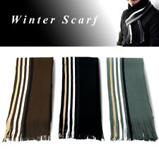 Universal 1PCS Long Winter Autumn Striped Scarf Multicolor Soft Warm Knit Scarf