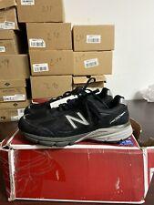 New Balance Mens M990 Black Sneakers Size 10 4E 232