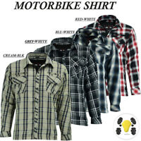 Men's Motorcycle Motorbike Protective Shirt CE Armoured Protection For Bikers